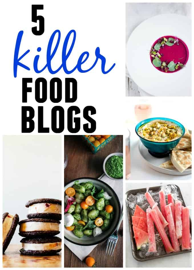 5 Killer food blogs you should be reading!