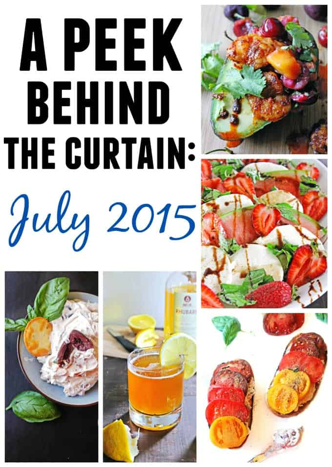 A peek behind the curtain July 2015 // Rhubarbarians