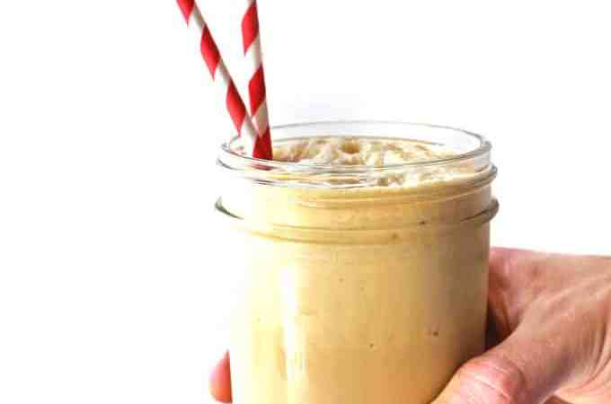 Earl grey honey milkshakes