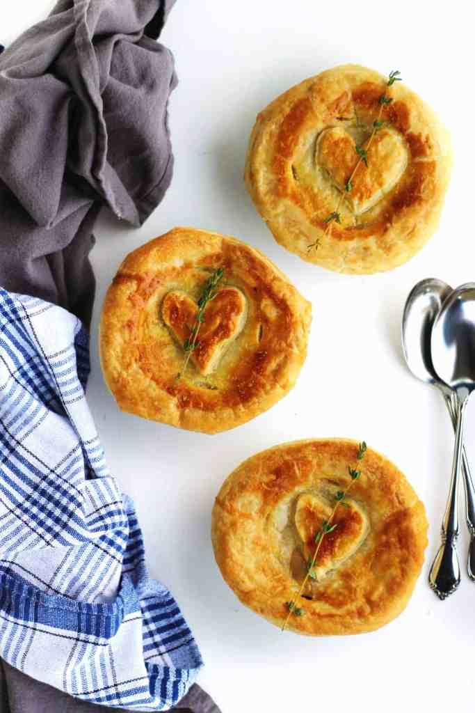 vegetable vegan pot pie
