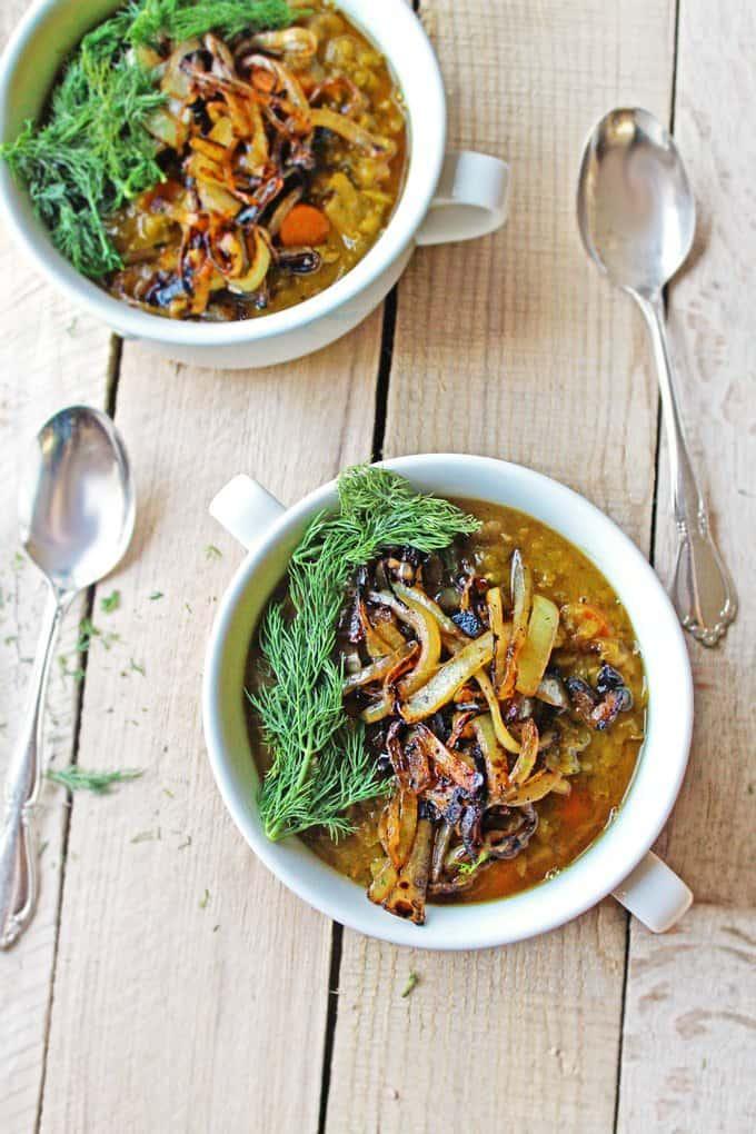 green split pea soup recipe
