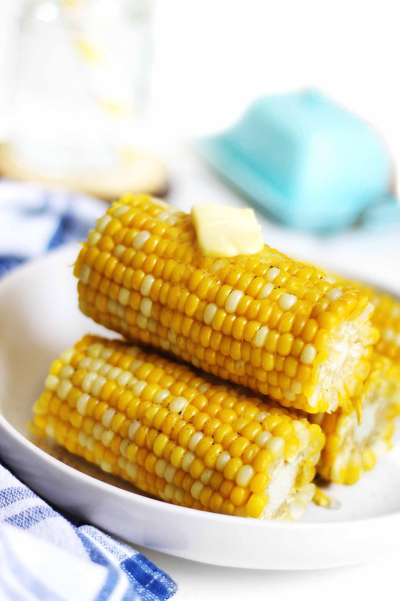 corn on the cob with butter