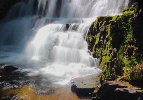 Upper Clear Creek falls
