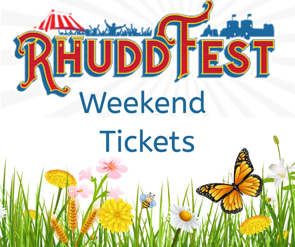 Rhuddfest Weekend Tickets