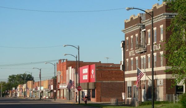 Franklin, Nebraska downtown