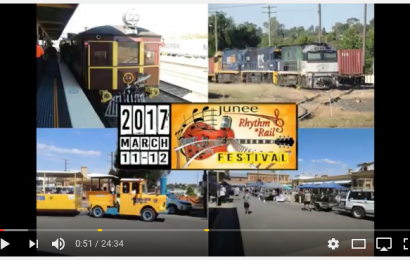 Video footage of 2017 Rhythm n Rail Festival