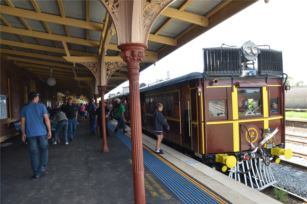 Broadway, the Home of the 2015 Junee Rhythm n Rail Festival