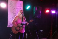 Gayle O'Neil performs at The Red Cow Hotel