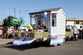 The Hotondo Cubby House been showcased in the Street Parade, before been auctioned off to raise funds for the Make-A-Wish Foundation