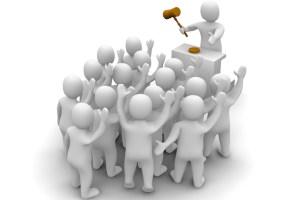 Auction - Bidders and Auctioneer