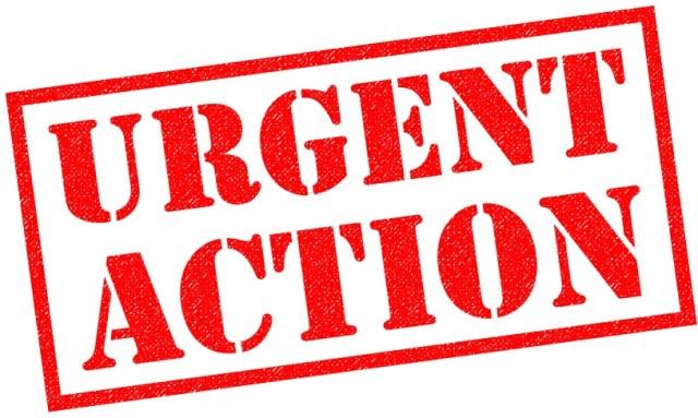 Urgent Action!