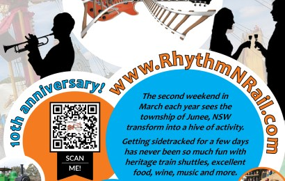 2018 Junee Rhythm n Rail Promotional Poster Released