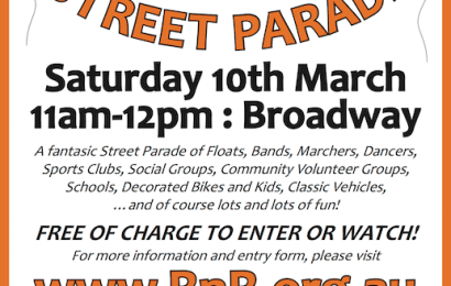 Advertisement promoting the Street Parade