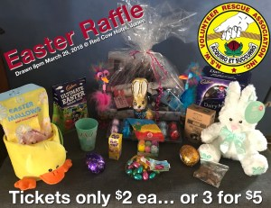 VRA Junee Rescue Branch's 2018 Easter Raffle