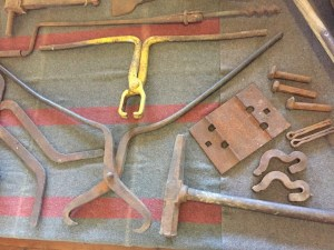 Heritage Railway Tools on display at Broadway Museum
