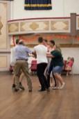 Dancing at the Junee Bush Dance. Athenium Theatre