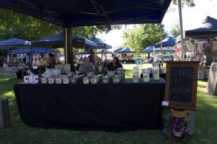 Market Stalls in Memorial Park