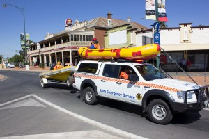 Junee Street Parade Entrants -- State Emergency Services Junee