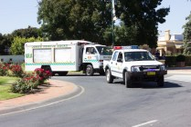 VRA Junee Rescue Squad -- the final vehicles in the Junee Street Parade