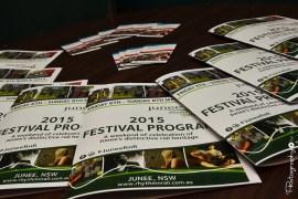 2015 Festival Program -- A weekend of celebration of Junee's distinctive rail heritage [2015 Rhythm n Rail]