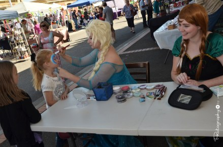 Face Painting at the Markets in Railway Square [2015 Rhythm n Rail]