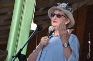 Trish Davies at the Poets Breakfast [2015 Rhythm n Rail]
