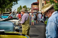 Classic Cars on Display in Peel Street [2016 Rhythm n Rail]