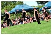 So Dance Junee performing in Memorial Park [2016 Rhythm n Rail]