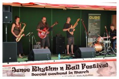 Live performance on the Main Stage in Memorial Park [2016 Rhythm n Rail]