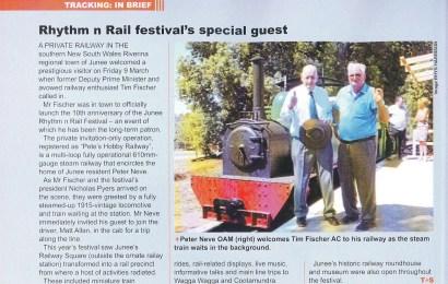 Track + Signal — Rhythm n Rail festival's special guest