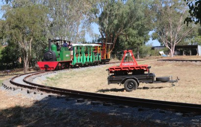 Pete's Hobby Railway at Rhythm n Rail 2018