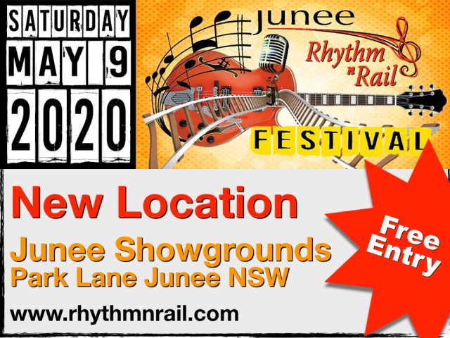 New Location for Rhythm n Rail 2020