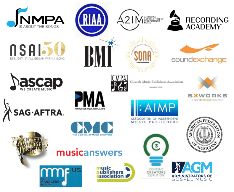 LICENSING REFORM LEGISLATION WINS UNIFIED SUPPORT OF KEY MUSIC LEADERS