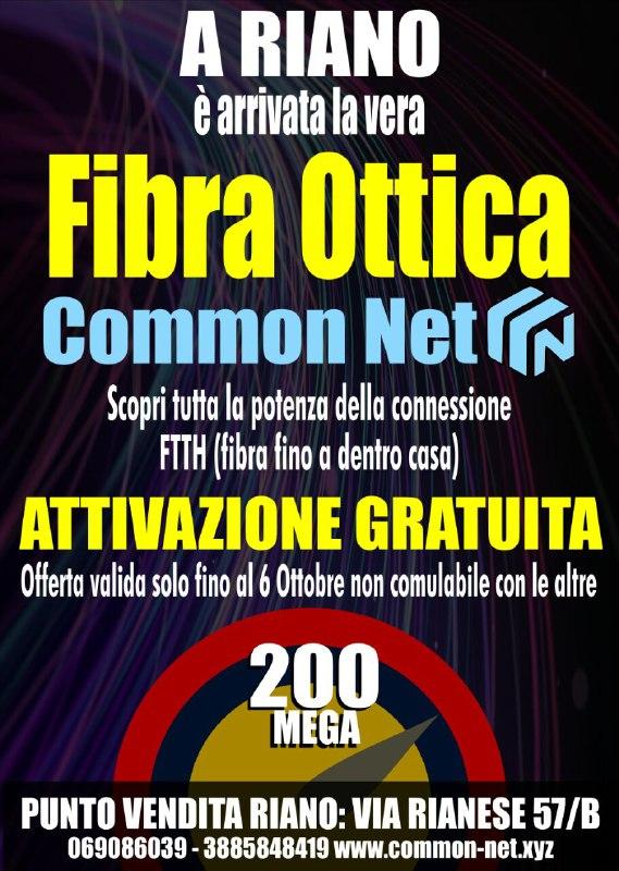 attivazione gratuita FTTH