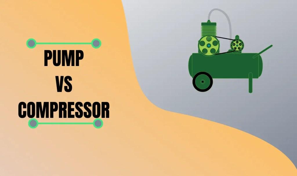 pump vs compressor