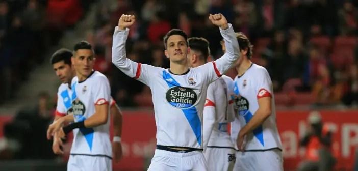 Luis Alberto Sporting celebracion