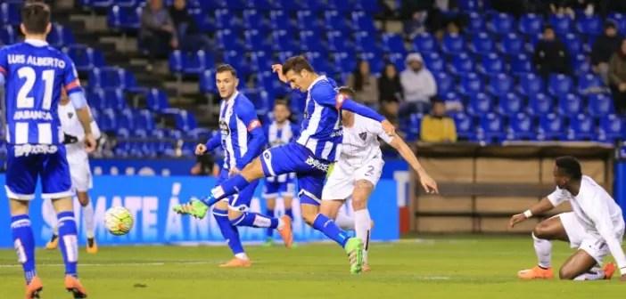 Gol Celso Borges Deportivo Málaga