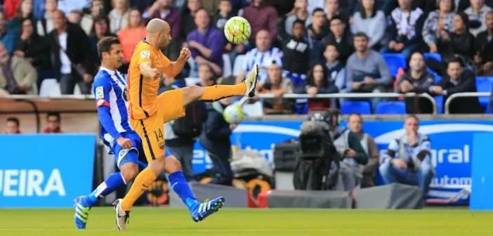 Borges Mascherano Deportivo-Barcelona