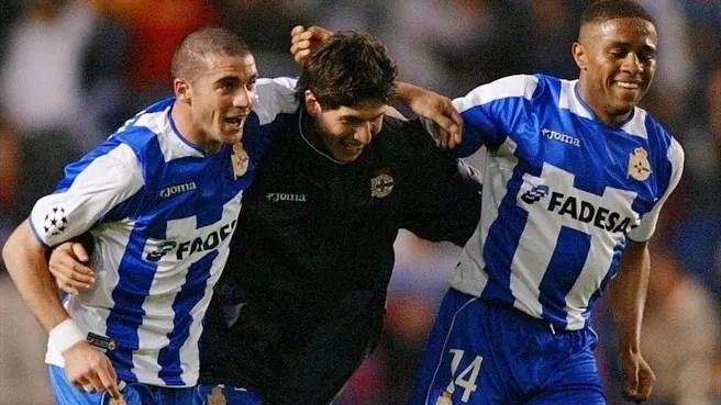 Una noche mágica en Riazor permitió al Depor llegar a las semis de la Liga de Campeones de 2004. Fuente: UEFA.com