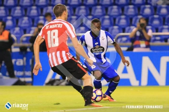 Marlos Moreno debutó con el Deportivo.