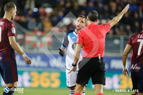 Florin Andone destacó que el árbitro no pitó el penalti a Çolak pero en lo demás estuvo perfecto.