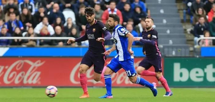 Bruno Gama - Deportivo vs Barcelona