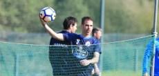 Entrenamiento Deportivo Coruña - Fernando Navarro