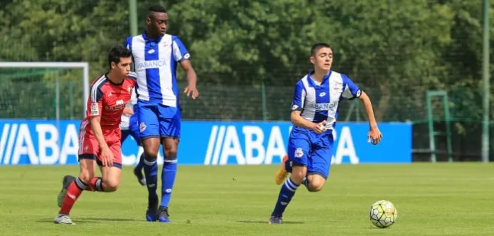 Sergio Ortuño Mujaid Juvenil A vs Osasuna
