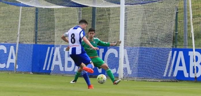 Aarón Sánchez Juvenil A vs Osasuna