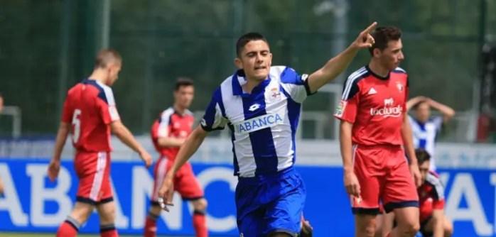 Sergio Ortu Juvenil A vs Osasuna