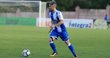 Luisinho conducción balón contra Racing Vilalbés