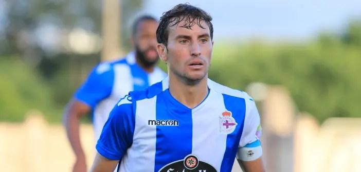 Pedro Mosquera primer plano: Racing Vilalbes - Deportivo