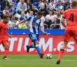 Fabian Schar en el Deportivo - Real Sociedad