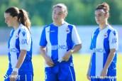 Deportivo Femenino - Sárdoma: Patri Díaz Laura Vázquez Lía Muíño